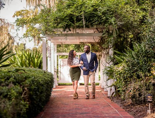 A Romantic Cypress Grove Estate House Engagement: Shawn & Samantha
